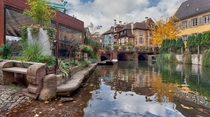 Colmar - The little Venice Beautiful village in France