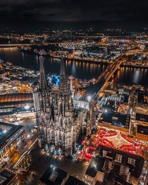 Cologne by night Germany