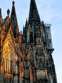 Cologne cathedral As viewed from the railway tracks