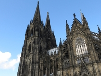 Cologne Cathedral Klner Dom - foundation stone laid in  construction finished  years later in