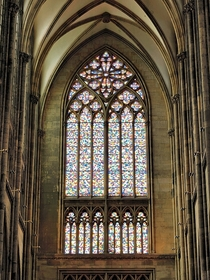 Cologne Cathedral window by Gerhard Richter Cologne Germany