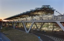 CologneBonn Airport Terminal  by JAHN Germany