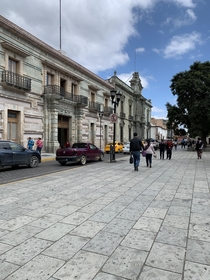 Colonial architecture in the city of Oaxaca Mxico