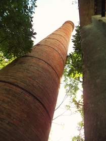 Colonial Mexican Hacienda brickstack This was a sugar plantation smokestack The Plantation was completed in  OC  x