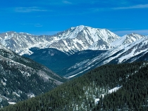 Colorado just wont give up its snowpack this year La Plata Peak  days before the summer solstice  x