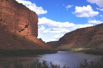 Colorado River at Moab Utah USA