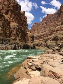 Colorado River Grand Canyon Natl Park  day river trip - Should be required activity for all mankind