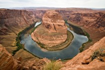 Colorado River - Horseshoe Bend in USA