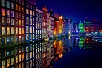Colorful Amsterdam  photo by Juan Pablo deMiguel