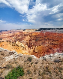 Colorful landscape at Cedar Breaks National Monument Utah USA - OC - x