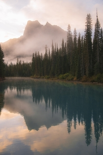 Colorful Reflections in Yoho National Park BC
