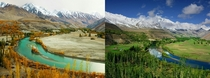 Colors Of Phandar Valley In Two Different Seasons  Phandar Valley Gilgit Baltistan Pakistan  By Muzaffar Bukhari