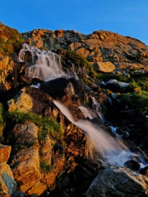 Columbine Falls in Rocky Mountain National Park