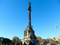 Columbus Monument Barcelona Designed by Antoni Fages i Ferrer
