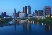 Columbus Ohio at the blue hour