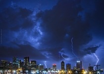 Columbus Ohio during the recent storms OS