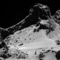 Comet from  km Rosetta Mission Comet P