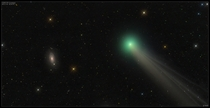 Comet Lovejoy Before Galaxy M
