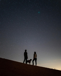 Comet P portrait with our boxer Kona Anza Borrego Desert California OCjackfusco