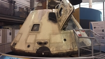 Command Module at Museum in Dallas TX