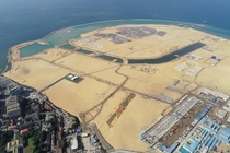 Completion of Colombo Port City Land Reclamation Project - Reported by DredgingTodaycom -January-__
