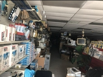 Computer store untouched since