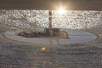 Concentrated solar installation in the Mojave credit to uproteon x-post rpics