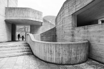 Concrete Church Longarone Italy