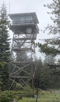 Condemned Robinson Butte Lookout Tower