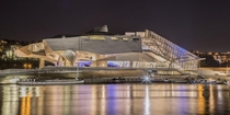 Confluence Museum in Lyon - France