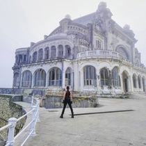 Constanta Casino before being redeveloped- this is in Romania on a seafront