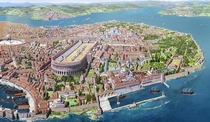 Constantinople drawing