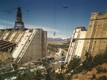 Construction of the Shasta Dam California