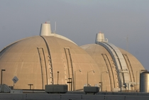 Containment Domes at the San Onofre Nuclear Power Plant- Pendleton California