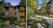 Contemporary Home with Koi Pond by George Suyama Seattle USA