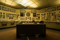 Control Room in an Abandoned Nuclear Power Plant