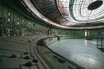 Control Room of an abandoned Power Plant