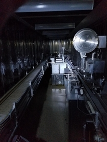 Conveyor belt from closed antibiotic manufacturing facility in Maryland