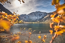 Convict Lake -SoCal- right before it was dumped on by snow for the season