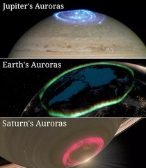 Cool Auroras from Space