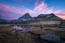 Cool evening at Logan Pass Glacier National Park