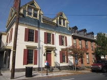 Cool mix of styles Victorian  Italianate  Center-hall Colonial in Gettysburg yes that one