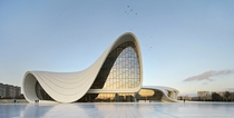 Coolest building out there hands down - Heydar Aliyev Center by Zaha Hadid