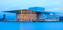Copenhagen Opera House was designed by Architect Henning Larsen and completed in