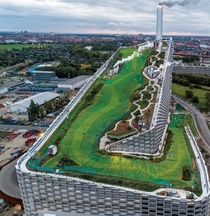 Copenhill incinerator and ski slope Copenhagen Denmark Image - Luca Locatelli