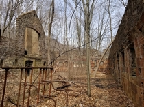 Cornish Farm ruins as seen yesterday Philipstown NY