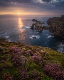 Cornish sunset UK