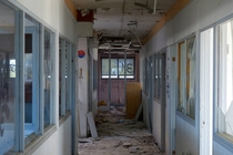 Corridor in decay - France -