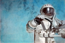 Cosmonaut Alexei Leonov first human spacewalking March   Credit FAI Archive