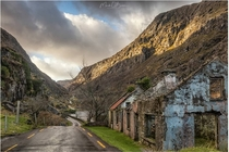 Cottages at the Gap of Dunloe Ireland